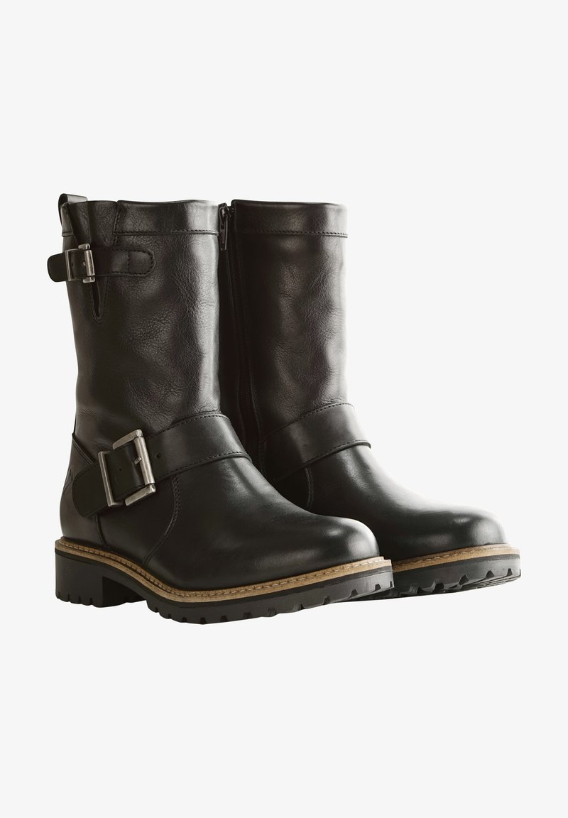 Travelin - Cowboy/Biker boots - black