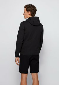 BOSS - SAGGY 2 - Zip-up hoodie - black - 2