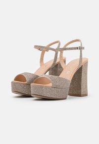 Unisa - VEGARA - Platform sandals - mumm/sunta - 2