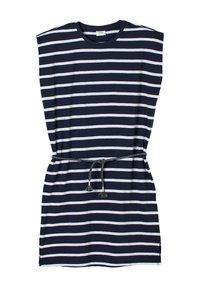 s.Oliver - ROBE À MOTIF RAYÉ - Jersey dress - dark blue stripes - 3