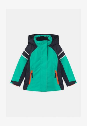 GIRL FIX HOOD - Ski jacket - acqua