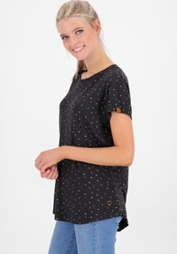 alife & kickin - MIMMY B  - Print T-shirt - moonless - 4