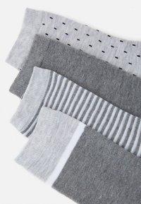 DIM - FASHION CREW SOCKS 4 PACK - Ponožky - grey - 1