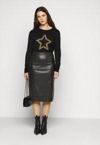 Evans - SKIRT - Pencil skirt - black - 1
