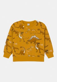 Lindex - MINI DINO UNISEX - Sweatshirt - dark dusty yellow - 0