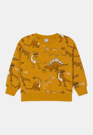 MINI DINO UNISEX - Sweatshirt - dark dusty yellow