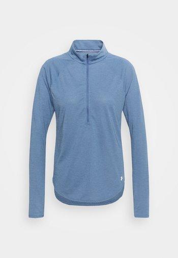 STREAKER HALF ZIP - Pitkähihainen paita - mineral blue