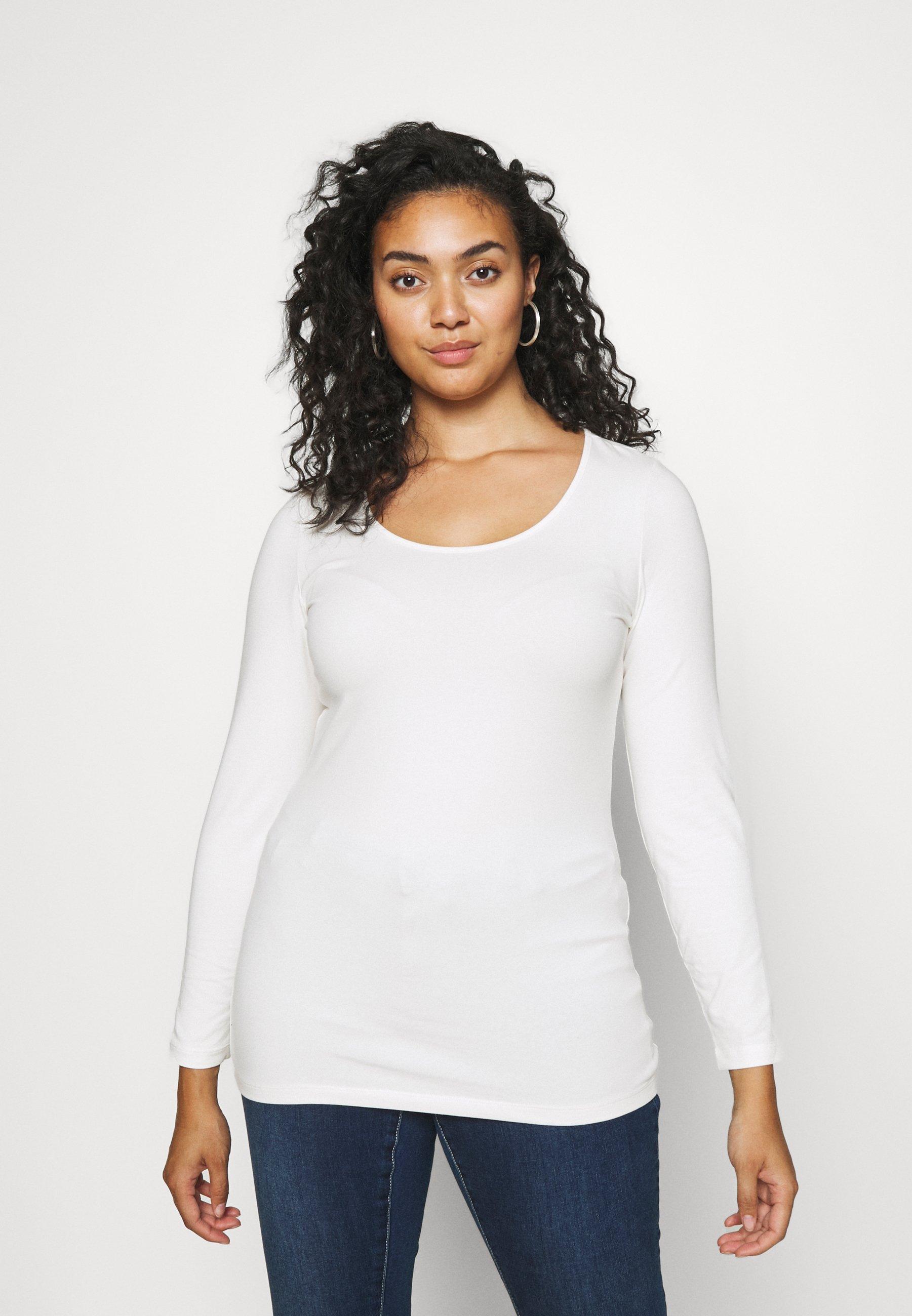 Women VMPAXI SOFT UNECK - Long sleeved top