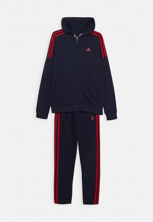 SET UNISEX - Tracksuit - legend ink/scarlet