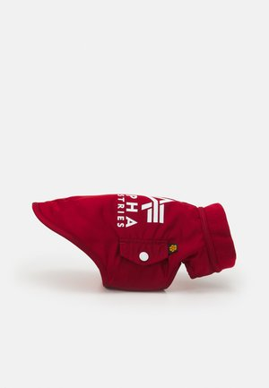 DOG JACKET BACKPRINT UNISEX - Other accessories - red