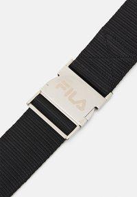 Fila - SNAP BUCKLE BELT UNISEX - Belt - black - 2