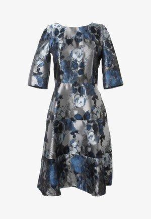 Day dress - silbrig blau