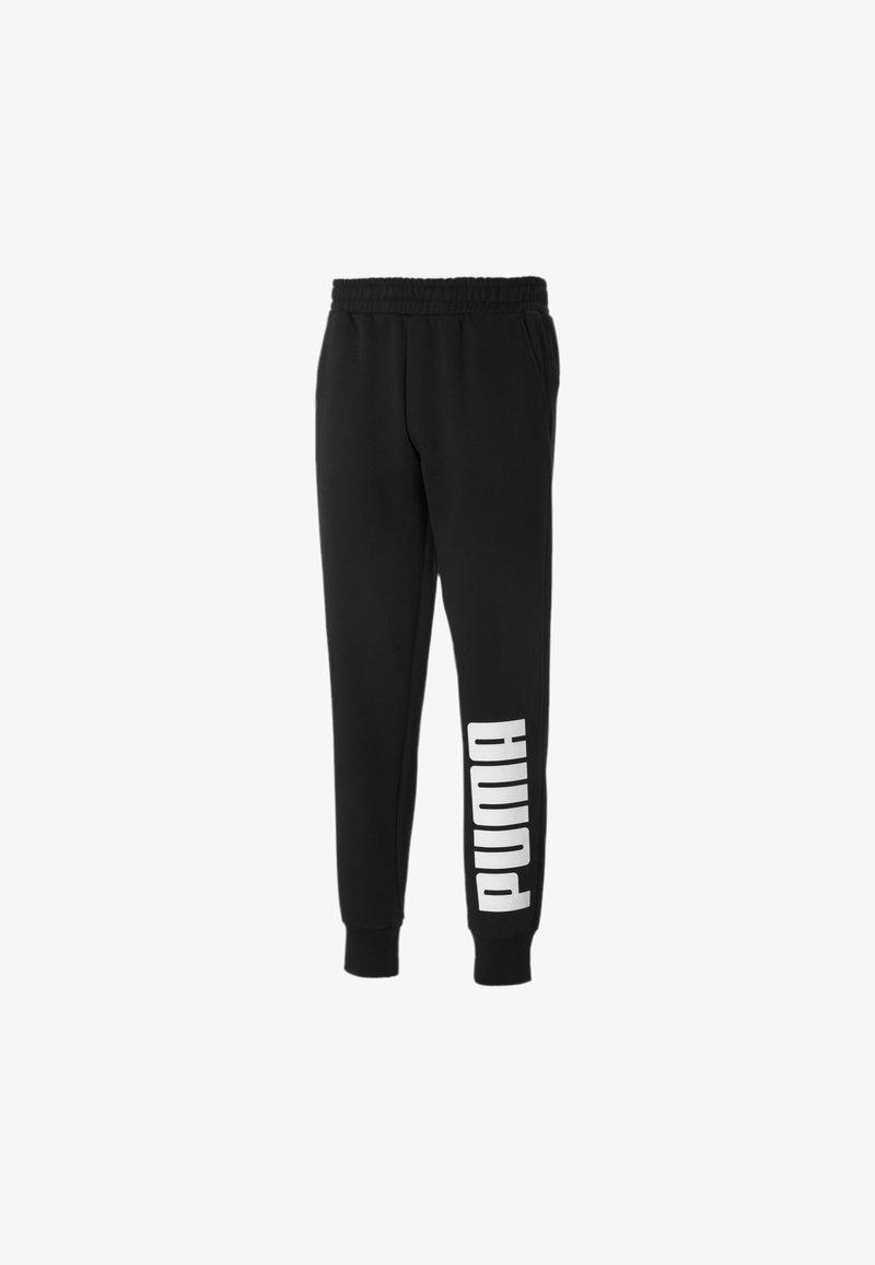 Puma - Tracksuit bottoms -  black/white