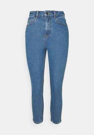 OBJVINNIE - Slim fit jeans - medium blue