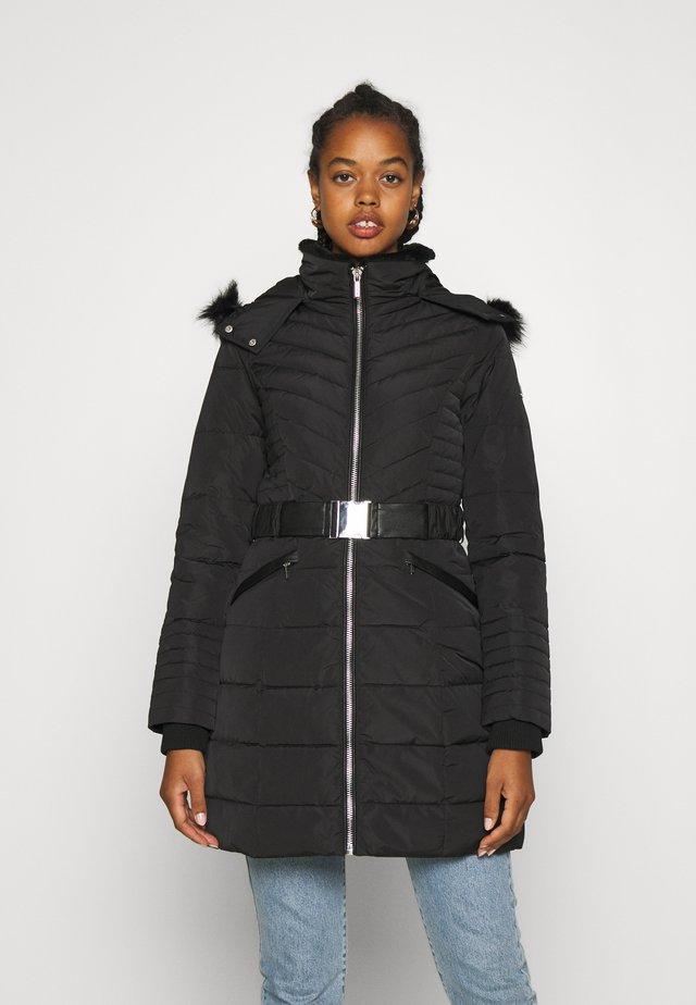 GIRO - Kabát zprachového peří - noir