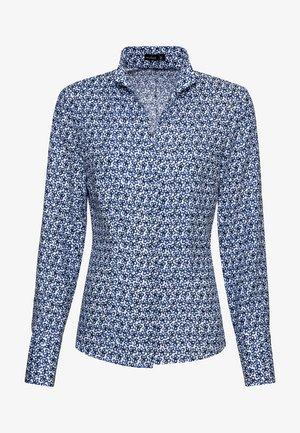M-ALISE - Button-down blouse - blue