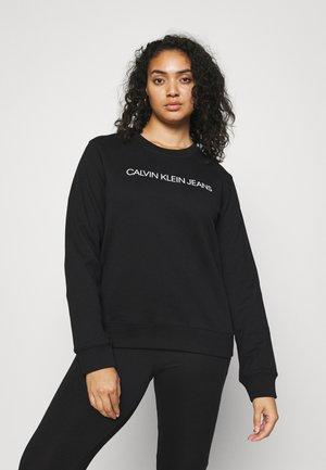 PLUS INSTITUTIONAL LOGO - Sweatshirt - black