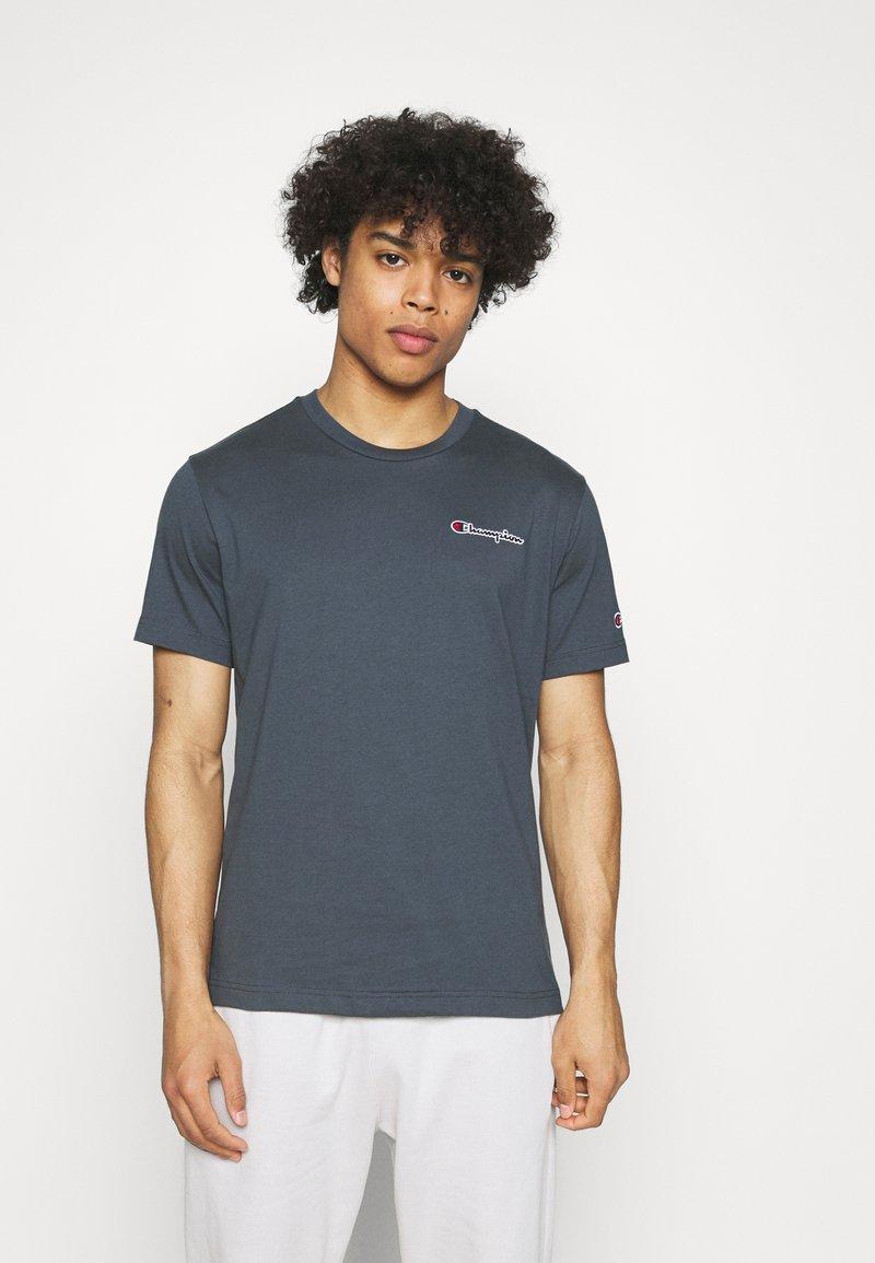 Champion Rochester - CREWNECK - Print T-shirt - blue