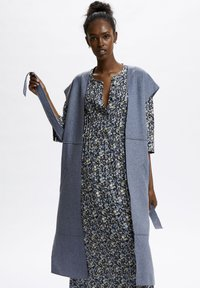 Denim Hunter - Waistcoat - ashley blue melange - 0