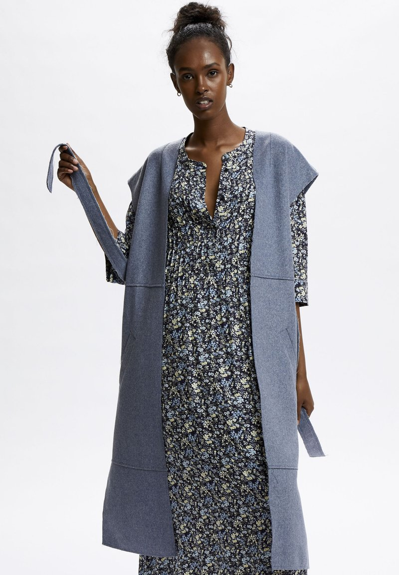 Denim Hunter - Waistcoat - ashley blue melange