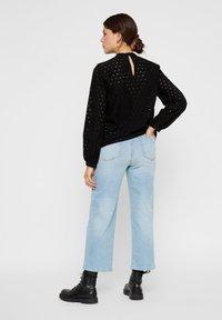 Pieces - Straight leg jeans - light blue denim - 2
