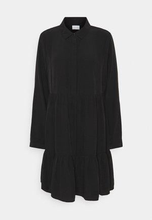 VIMORAS DRESS - Skjortekjole - black