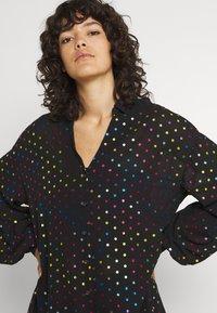 Never Fully Dressed - BLACK RAINBOW SPOT SHIRT - Button-down blouse - multi - 3