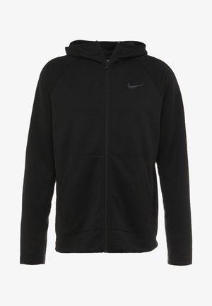 SPOTLIGHT HOODIE - Zip-up hoodie - black/anthracite