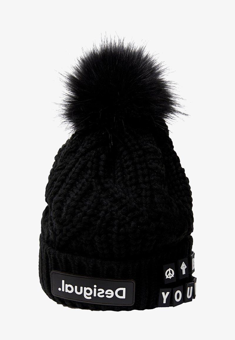 Desigual - Mütze - black