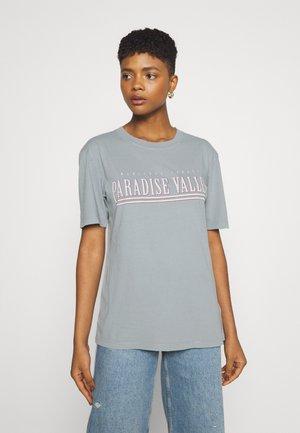 ELLIE TEE - Print T-shirt - limestone