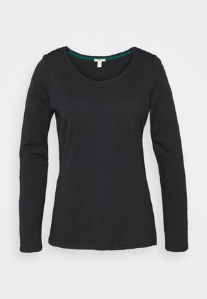 FLOW CORE  - Long sleeved top - black