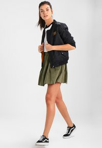 Moves - KIA - A-line skirt - dusty olive green - 1