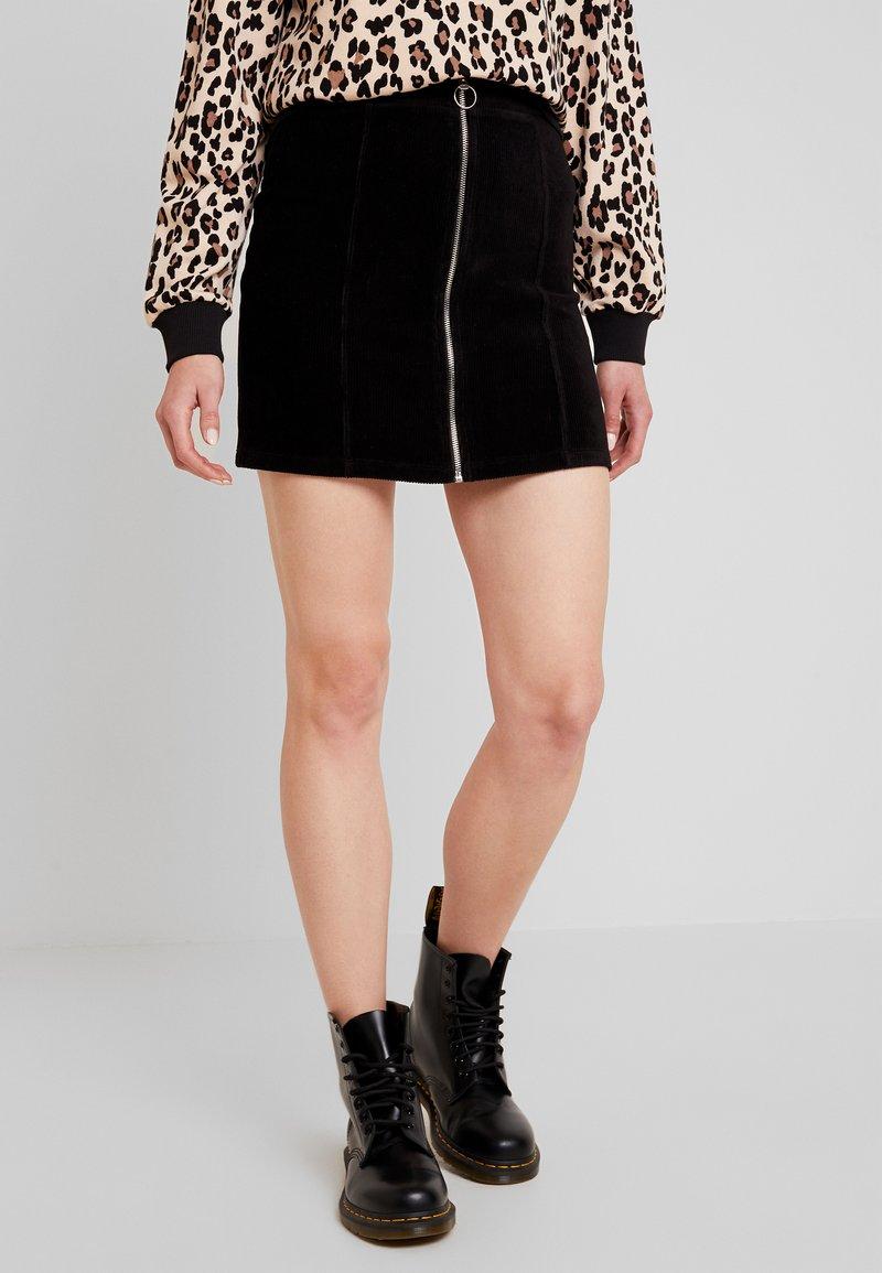 Gina Tricot - VELMA SKIRT - Pencil skirt - black