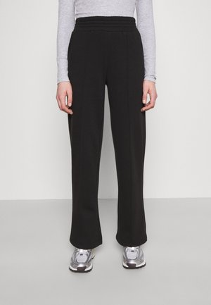 PCCHILLI WIDE PANTS - Tracksuit bottoms - black