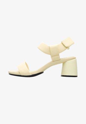 UPRIGHT - Sandals - gelb