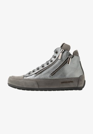 LUCIA ZIP - High-top trainers - gibson acciaio/tamponato antracite