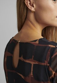 Nümph - NUFREJA DRESS - Day dress - schwarz - 3