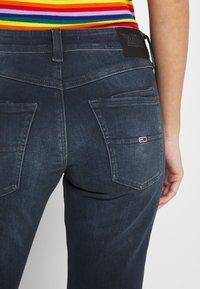 Tommy Jeans - SCARLETT  - Jeans Skinny Fit - jade dark blue - 5