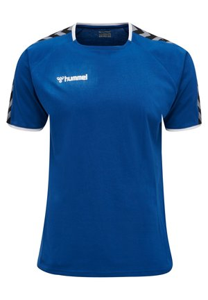 HMLAUTHENTIC - T-shirt print - true blue