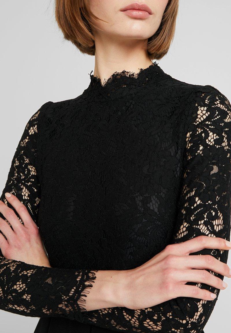 Molly Bracken Long Sleeves Robe De Soiree Black Noir Zalando Fr