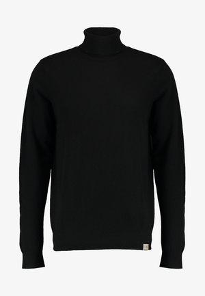 PLAYOFF TURTLENECK - Jumper - black rigid