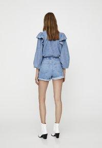 PULL&BEAR - Short en jean - light blue - 8
