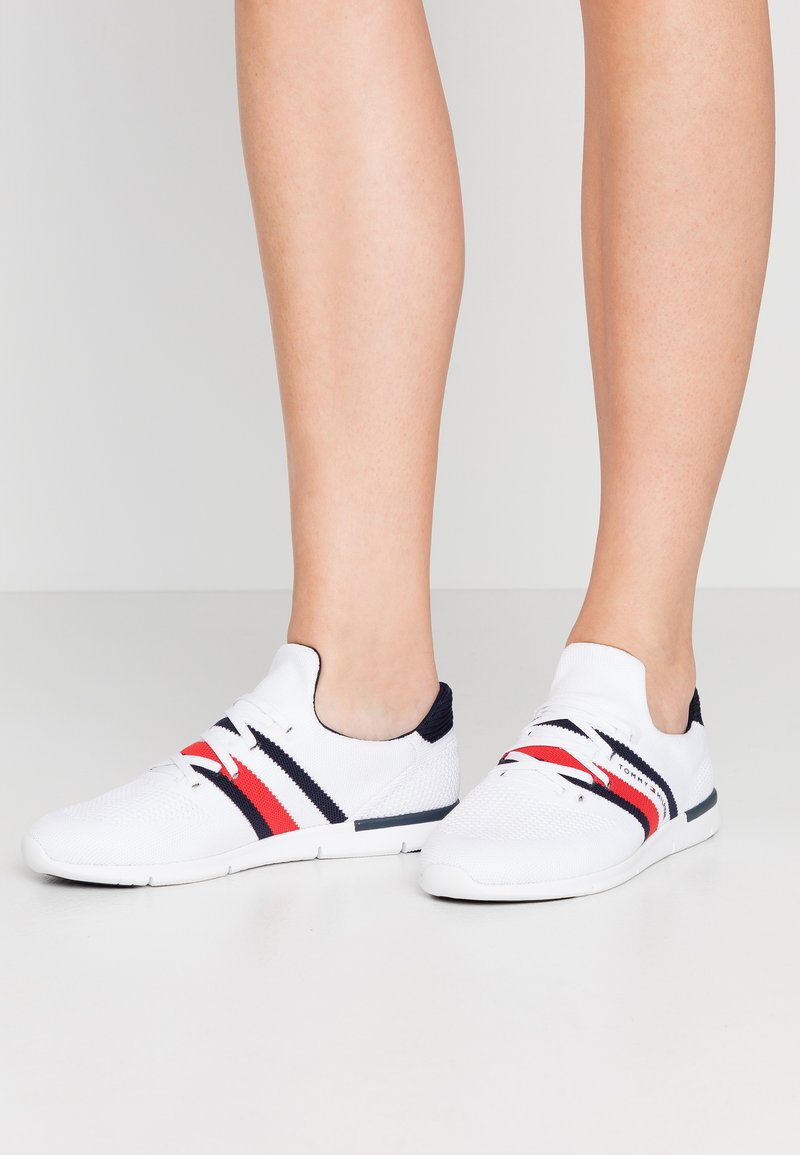 Tommy Hilfiger - SPORTY LIGHTWEIGHT  - Sneakers - white