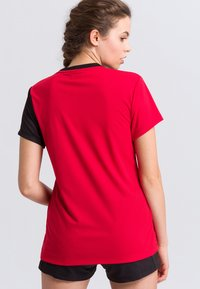 Erima - Print T-shirt - red/black/white - 2