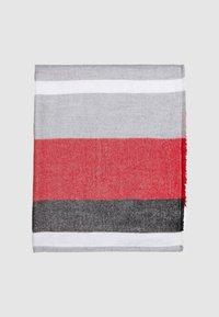 s.Oliver - GLITZER - Snood - red stripes - 1