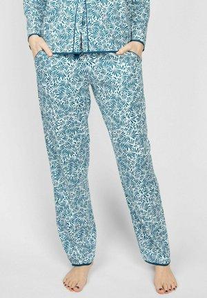 MARIA  - Pyjamasbyxor - teal floral print