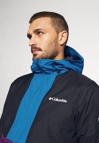 Columbia - TIMBERTURNER JACKET - Veste de snowboard - plum/black/fjord blue - 3