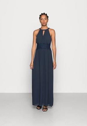 VIMILINA HALTERNECK MAXI DRESS - Společenské šaty - total eclipse
