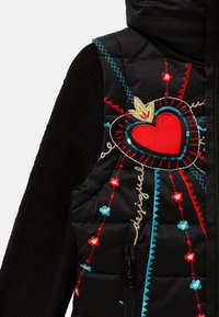Desigual - CHAQ_LICHI - Winter jacket - black - 2
