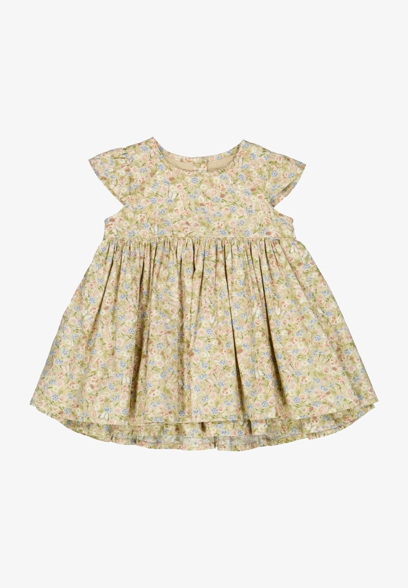 Wheat - Day dress - bees and flowers